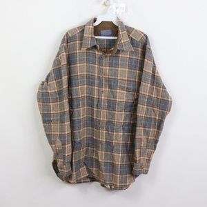 Vintage Pendleton Rockabilly Board Shirt Plaid XL